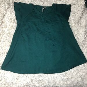 Plus Size Emerald Blouse!
